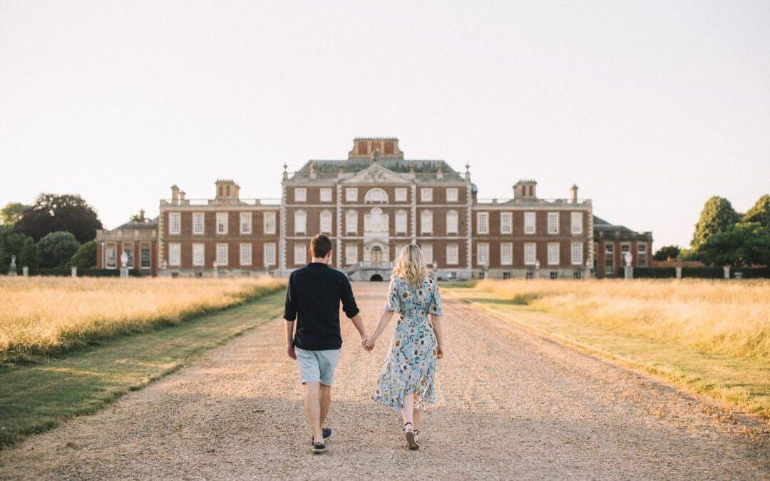 Cambridge engagement shoot