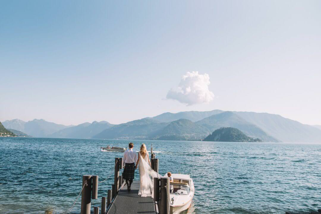 Lake Como Wedding, Villa Cipressi Wedding