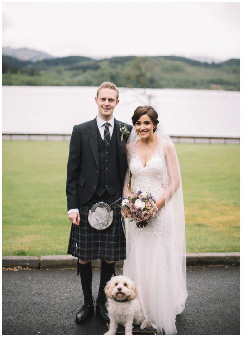 Scotland Wedding Photographer - Loch Lomond Wedding Venue