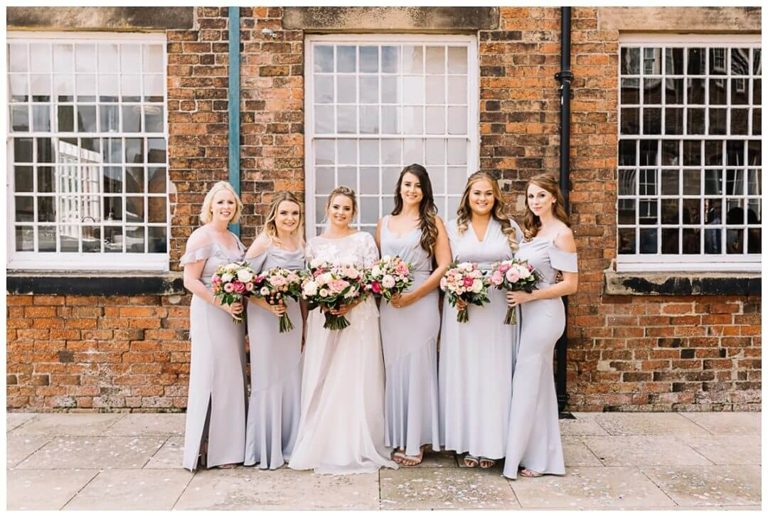 Bridesmaids at the West Mill