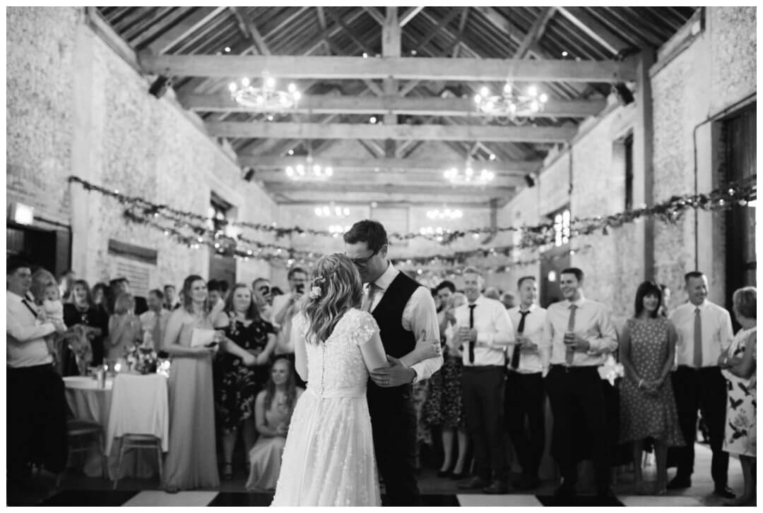First dance at the granary estate