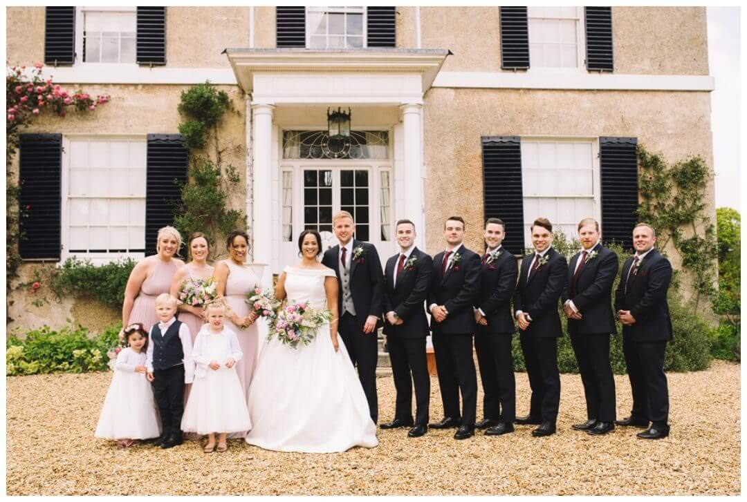Bridal Party at Preston Court