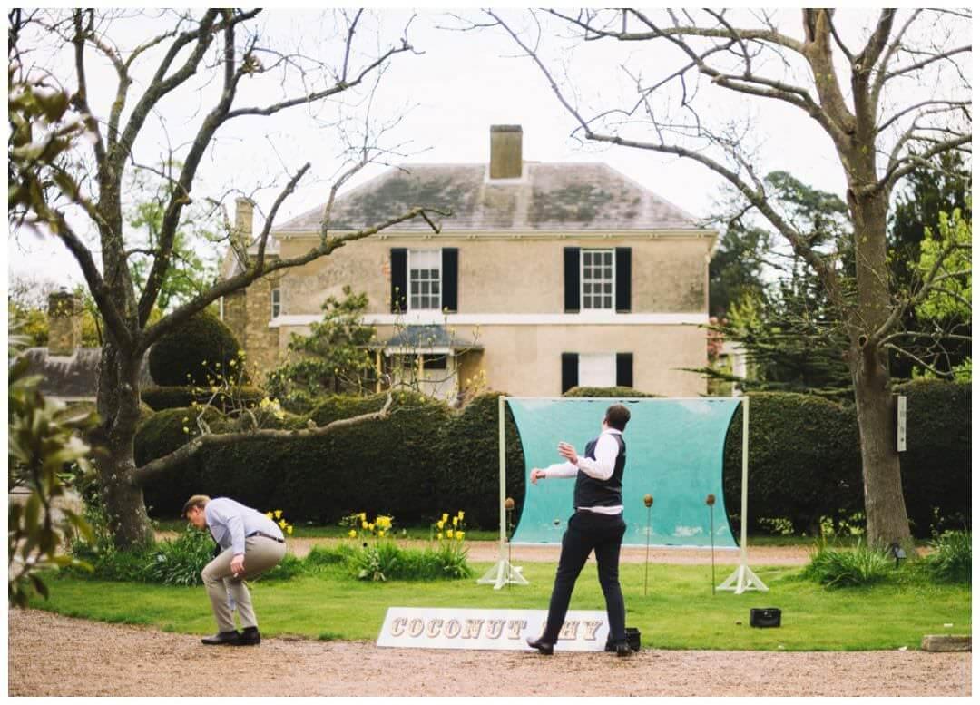 Preston Court Wedding Photography - fairground games