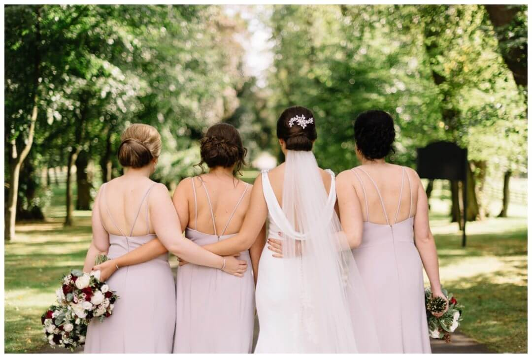 Carlowrie Castle Wedding Photographer - the bridesmaids