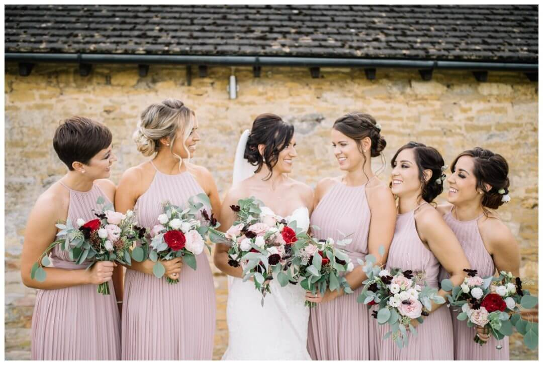 Lapstone Barn Wedding Photographer - bridesmaids