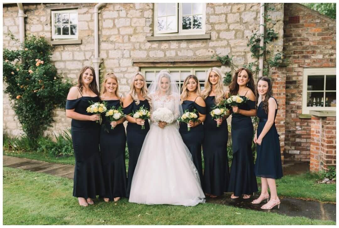 Bridal prep at the Orangery at Settrington
