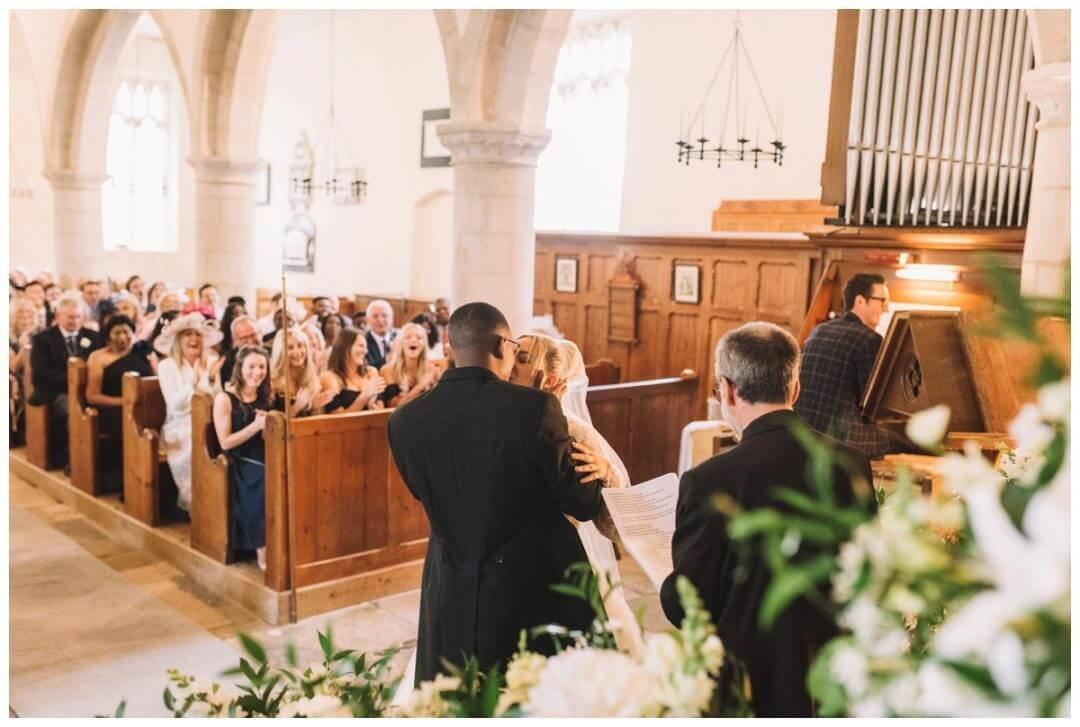 Church ceremony at the Orangery at Settrington