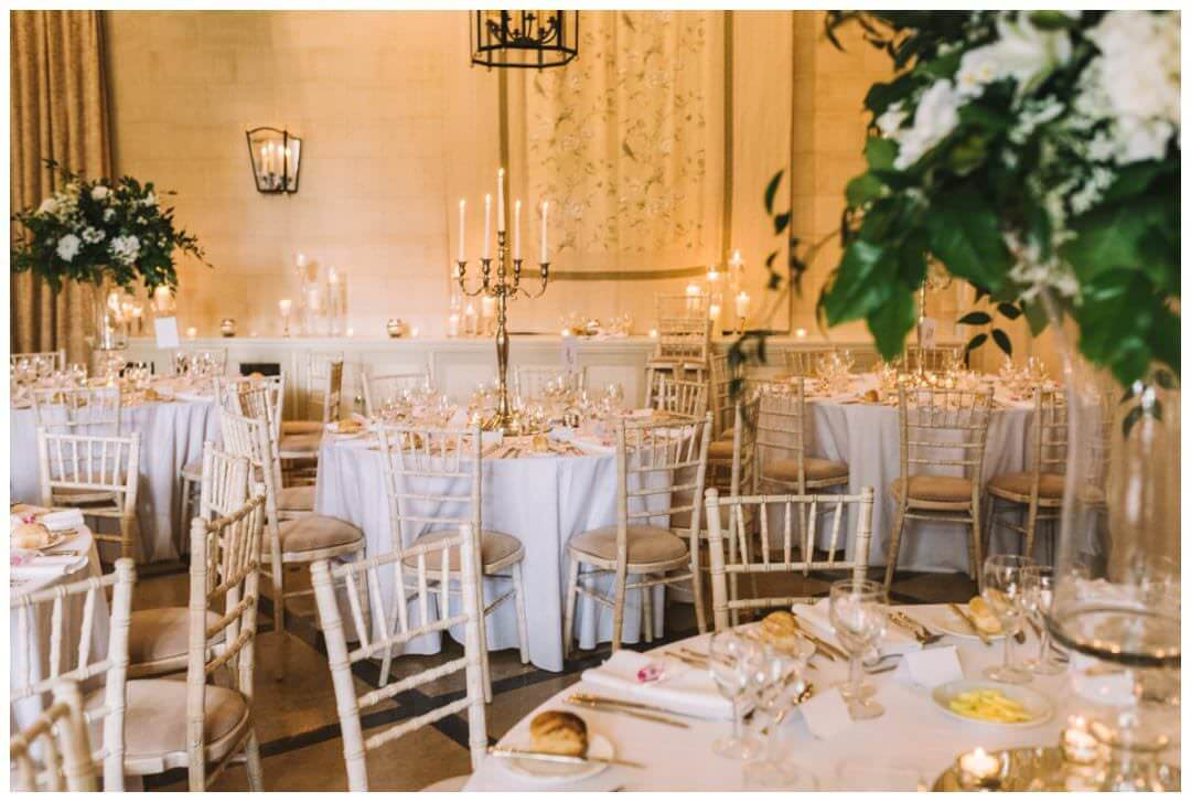 Reception details at the Orangery at Settrington