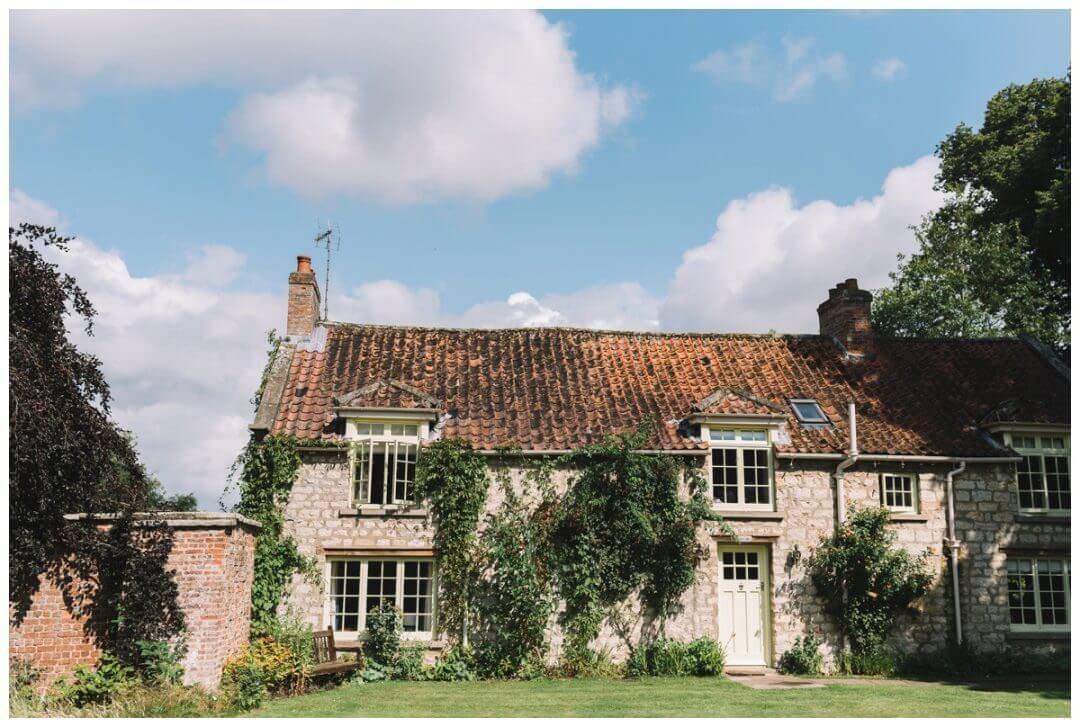 Bridal prep cottage