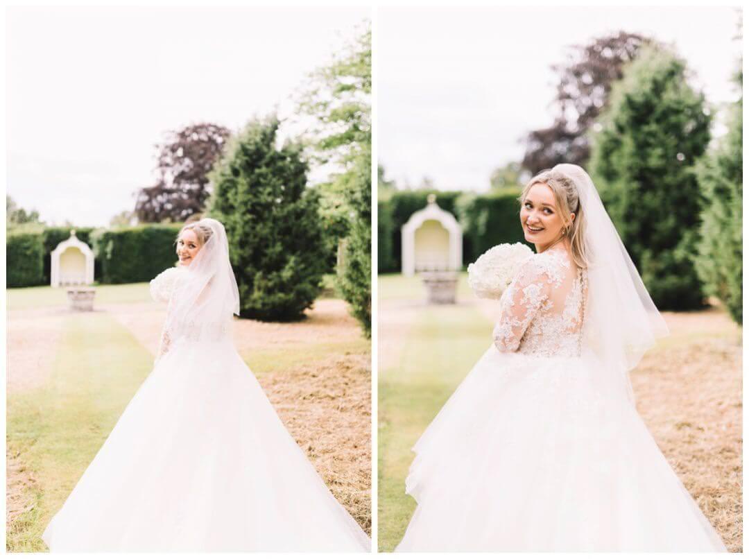 Bridal Portraits at the Orangery at Settrington
