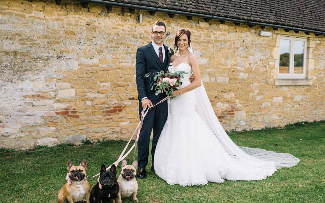 A Lapstone Wedding Photographer with 3 Frenchies