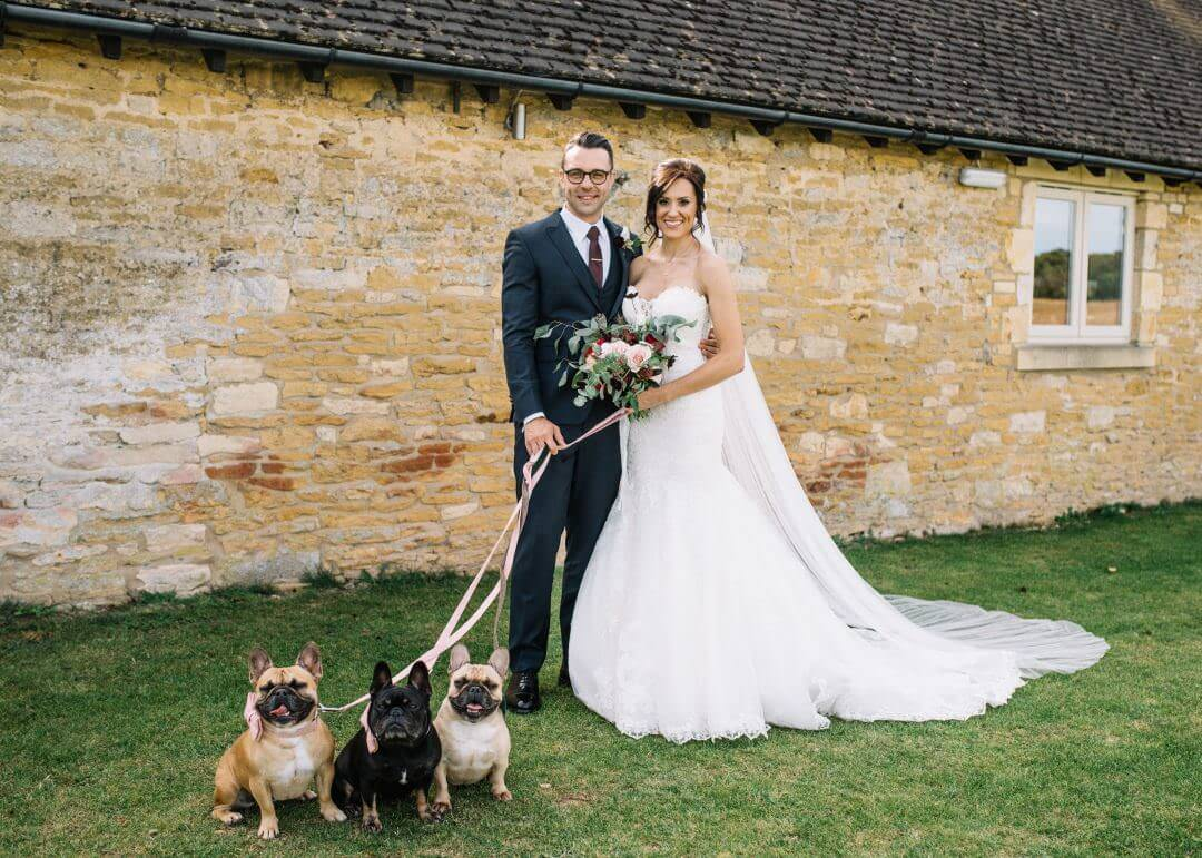 Dogs at weddings - Lapstone Wedding Photographer
