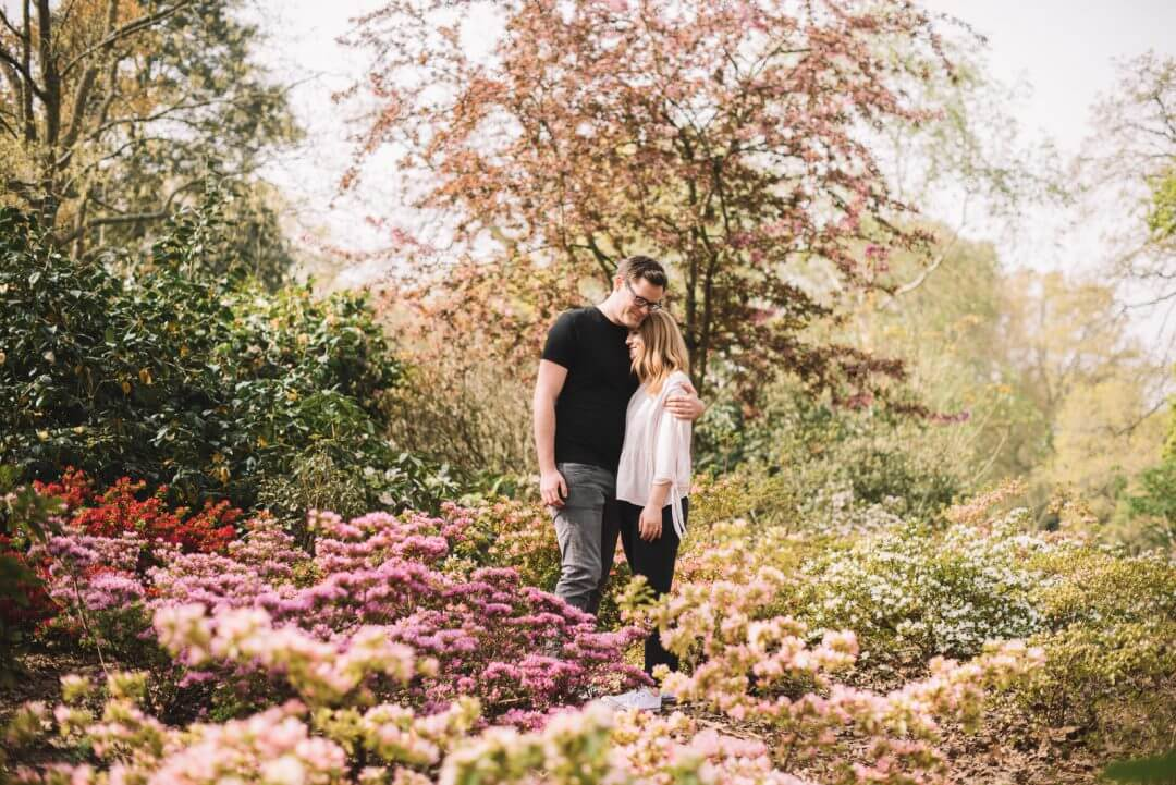 Engagement Shoot at Kew Gardens