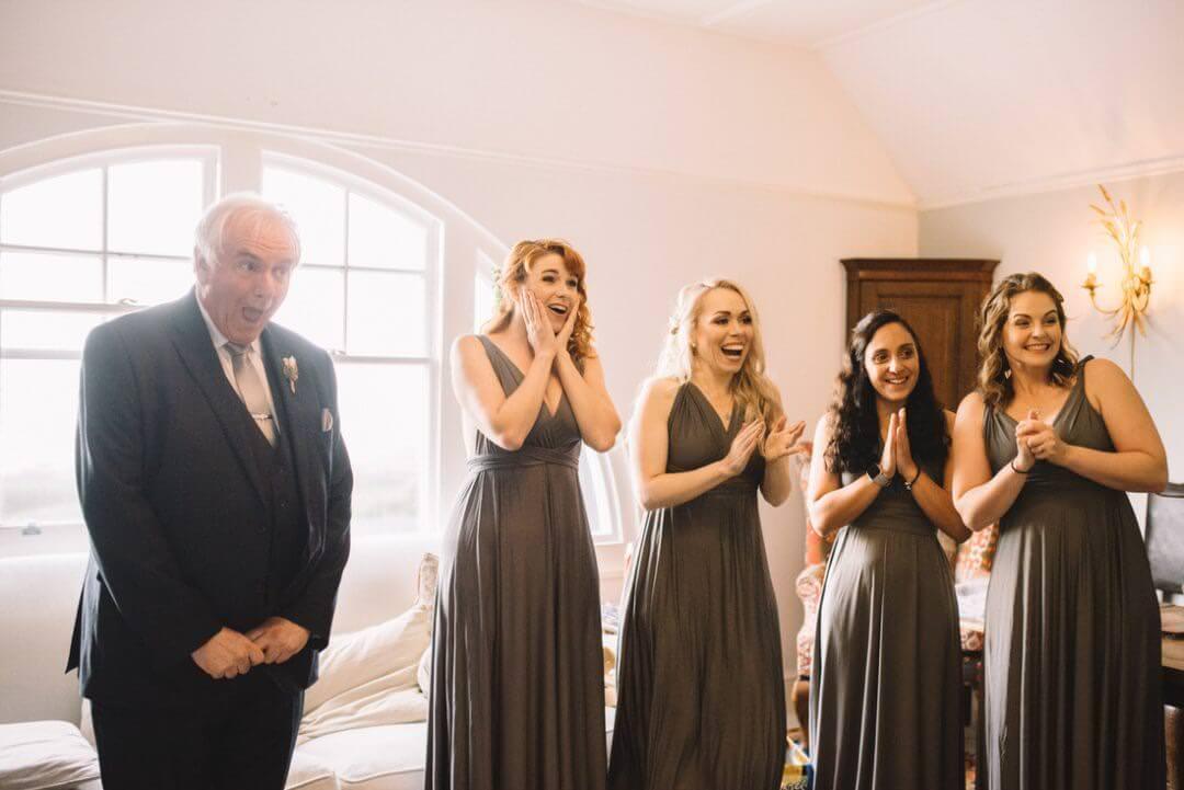 Bridal Prep Reaction