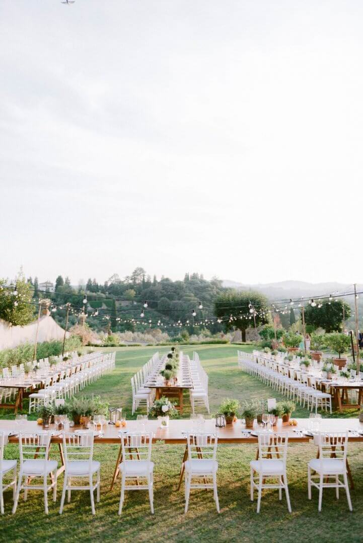 Villa Medicea di Lilliano, Tuscany Wedding Venue
