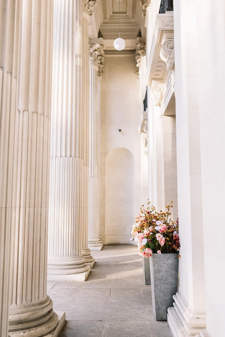 The Old Marylebone Town Hall Wedding