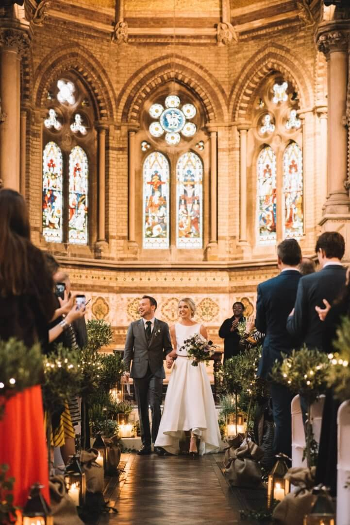 Relaxed Wedding Photography St Stephen's, Rosslyn Hill