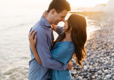 UK Engagement Shoot at Golden Hour