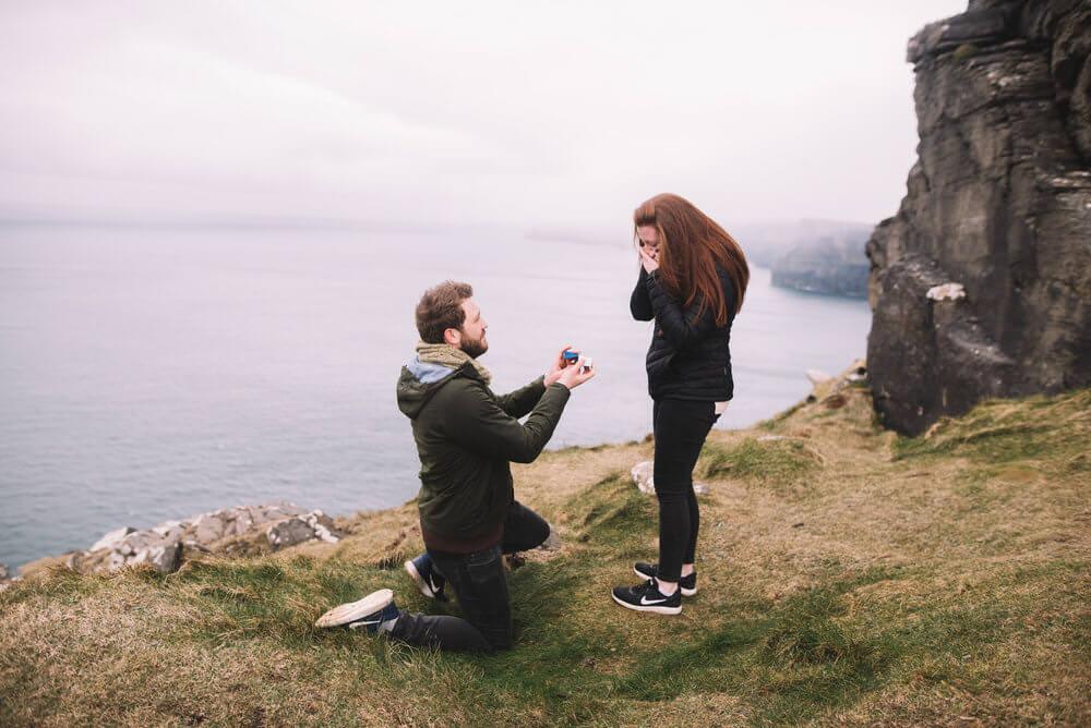 Ben and Lauren's Proposal in Ireland