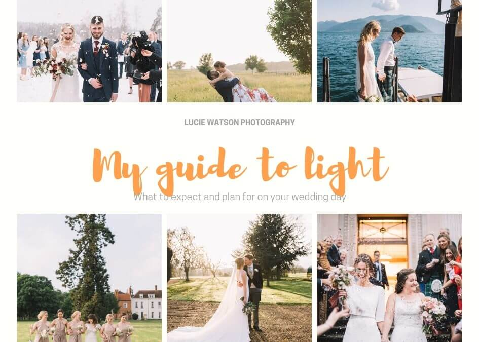 My guide to lighting on your wedding day