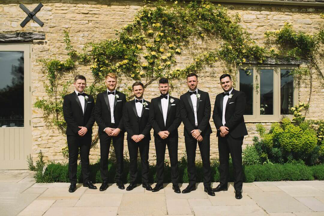 Groomsmen at Caswell House
