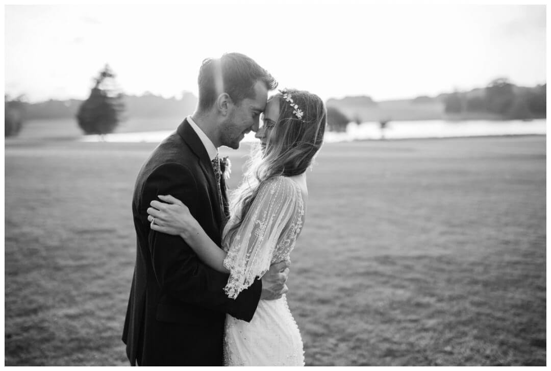 Golden Hour Wedding Photographer, Holkham Hall Wedding