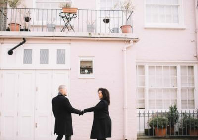 London Engagement Shoot Photographer, Notting Hill