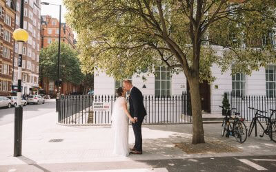 A Summer Wedding at Old Marylebone Town Hall