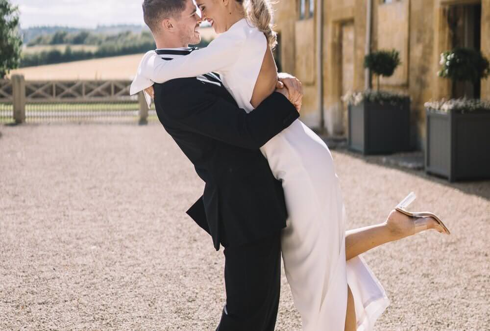 Modern, Chic Cotswolds Wedding